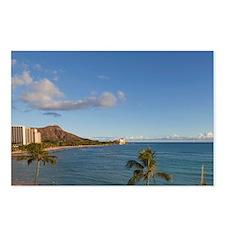 Waikiki Beach, Honolulu,  Postcards (Package of 8)