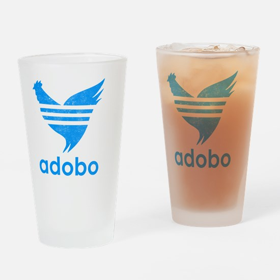 adob-blu Drinking Glass