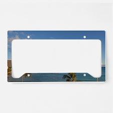 Waikiki Beach, Honolulu, Oahu License Plate Holder