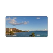 Waikiki Beach, Honolulu, Oa Aluminum License Plate
