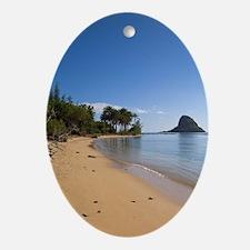 Kualoa Beach Park, Kaneohe Bay, Wind Oval Ornament