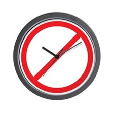 Taxation wo Representation RW Wall Clock