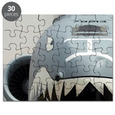 Mount Comfort Airport. Front of an A-10 Thu Puzzle