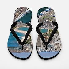 Ala Wai Yacht HarborWaikiki Beach, Waik Flip Flops