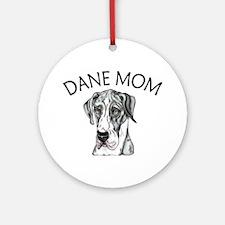 MerleB UC Dane Mom Ornament (Round)