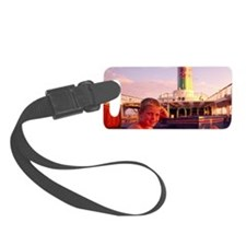 On cruiseboat, Hawaii Luggage Tag