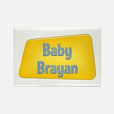 Baby Brayan Rectangle Magnet
