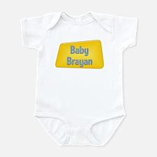 Baby Brayan Infant Bodysuit