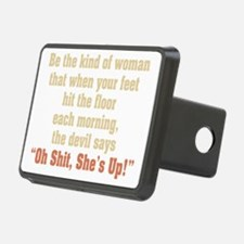 be the kind of woman Hitch Cover