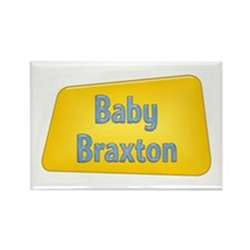Baby Braxton Rectangle Magnet (10 pack)