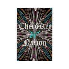 Cherokee Nations77443_iphone_case Rectangle Magnet