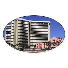 Royal Hawaiian Hotel, Waikiki Beach Decal