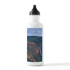 Hawaii, Kauai Waterfal Water Bottle