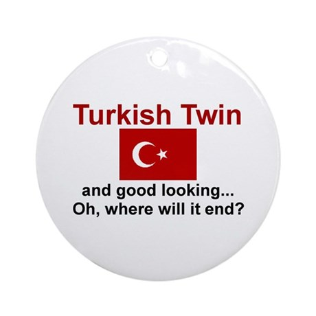Turkish Twins-Good Lkg Keepsake Ornament