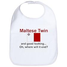 Maltese Twin-Good Looking Bib