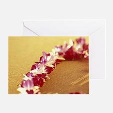 Kihei Beach. Vanda Miss Joaquim Orch Greeting Card