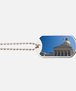 The Georgia State Capitol building in Atl Dog Tags