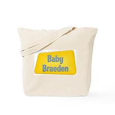 Baby Braeden Tote Bag