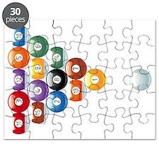 billard balls1 Puzzle