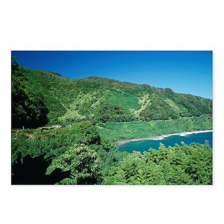 Hana Coast, Maui, Hawaii Postcards (Package of 8)