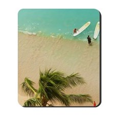 Waikiki Beach, Honolulu, Oahu, Hawaii Mousepad