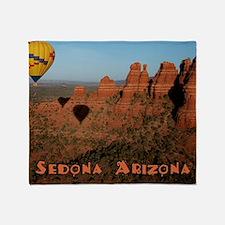 Sedona Arizona Throw Blanket