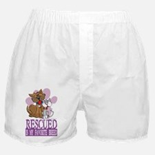 Rescued-Is-My-Favorite-Breed Boxer Shorts