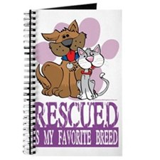 Rescued-Is-My-Favorite-Breed Journal