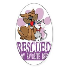 Rescued-Is-My-Favorite-Breed Decal