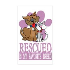 Rescued-Is-My-Favorite-Breed-b Decal