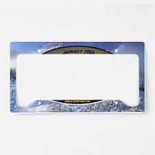 january-OSC License Plate Holder