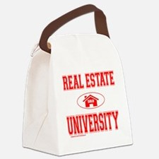 RealEstateUniversity Canvas Lunch Bag