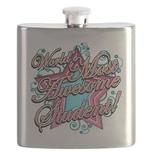 Worlds Most Awesome Student Flask