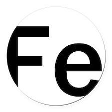iron-man-fe-frank-goth copy Round Car Magnet