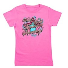 Worlds Most Awesome Secretary Girl's Tee