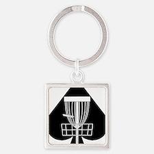 DG_WAYNE_01a Square Keychain