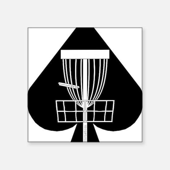 "DG_WAYNE_01a Square Sticker 3"" x 3"""