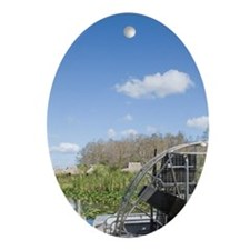 Big Cypress Seminole Reservation: Bi Oval Ornament