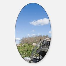 Big Cypress Seminole Reservation: B Sticker (Oval)
