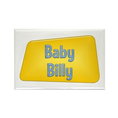 Baby Billy Rectangle Magnet