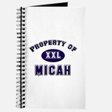 Property of micah Journal