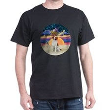 Xmas Star -  Brittany Spaniel T-Shirt