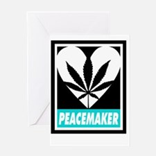 Budding Hearts - Peacemaker, Text In Greeting Card
