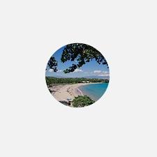 Kauna'oa Beach, Mauna Kea Beach Hotel, Mini Button
