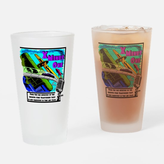 x minus one color Drinking Glass