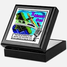 x minus one color Keepsake Box