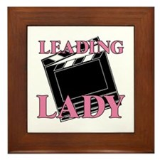 Leading Lady Actor Actress Drama Framed Tile