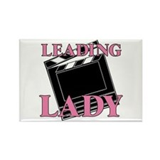 Leading Lady Actor Actress Drama Rectangle Magnet