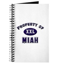 Property of miah Journal