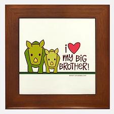 Big Brother Rhino Framed Tile